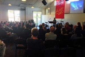 Image of a Sunday gathering or service at HWBC
